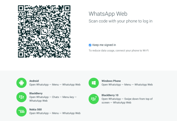 Schermata 2015 01 22 alle 11.25.27 620x425 WhatsApp ha lanciato la propria piattaforma web per chattare anche tramite il vostro Mac. Purtroppo il tutto ha una pecca!