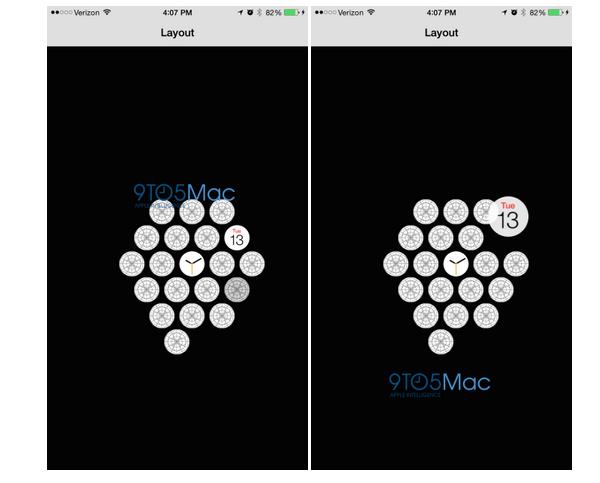 Schermata 2015 02 03 alle 12.10.25 L'icona dell'App Apple Watch per iPhone   Immagini