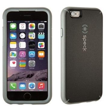 spk a3260 mightyshell for iphone6 blackslate straightfront3qbackright 1 Recensione: pronte le nuove custodie di Speck per iPhone 6