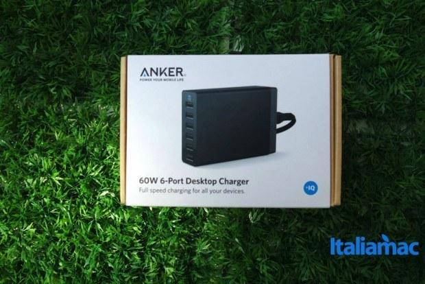 anker alimentatore 6 porte usb16 620x414 Anker, alimentatore a 6 porte USB da parete con Tecnologia PowerIQ