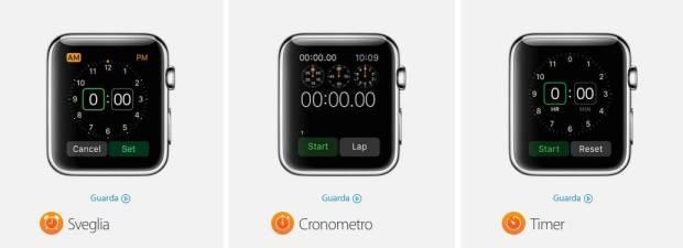 app apple watch5 Tutte le App native dellApple Watch