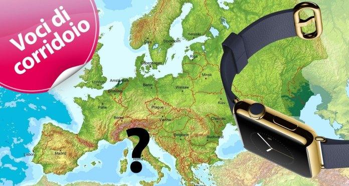 Apple Watch Europa Inghilterra