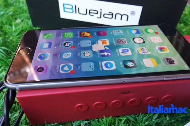 bluejam17 620x414 Bluejam Bluewave, provato lo speaker bluetooth che supporta Siri