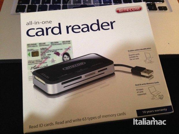 card reader confezione 620x465 All in one Card Reader di Sitecom, recensione del lettore di card e documenti.