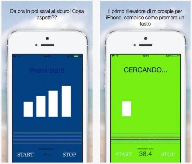 dontspy app ios 620x530 DontSpy per iOS, app che può scovare le microspie