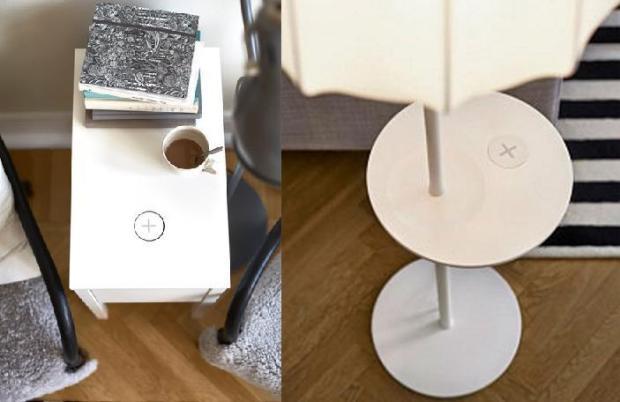 ikea wireless charging 620x402 AllIkea da aprile i mobili che ricaricano gli smartphone