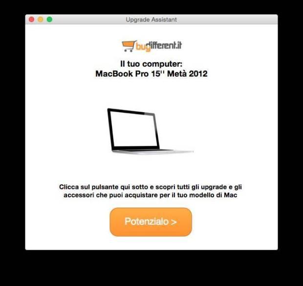 upgrade assistant app 620x584 BuyDifferent: 25 € di incentivo per velocizzare il vostro Mac