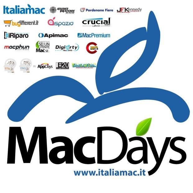 loghi macdays 2015 620x620 MacDays 2015: Gli appassionati Apple si incontrano alla fiera di Pordenone il 25 e 26 aprile