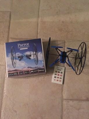 %name Rolling Spider. Italiamac prova il mini drone di Parrot