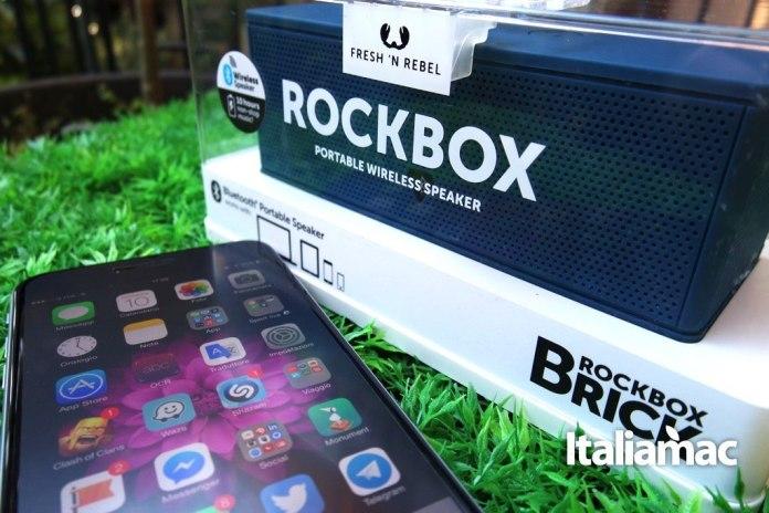 fresh'nrebel19 Fresh n Rebel Rockbox Brick, suoni al cubo