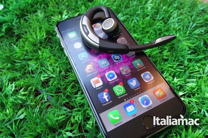 jabra13 Jabra Motion, auricolare bluetooth con tecnologia NFC e comandi vocali
