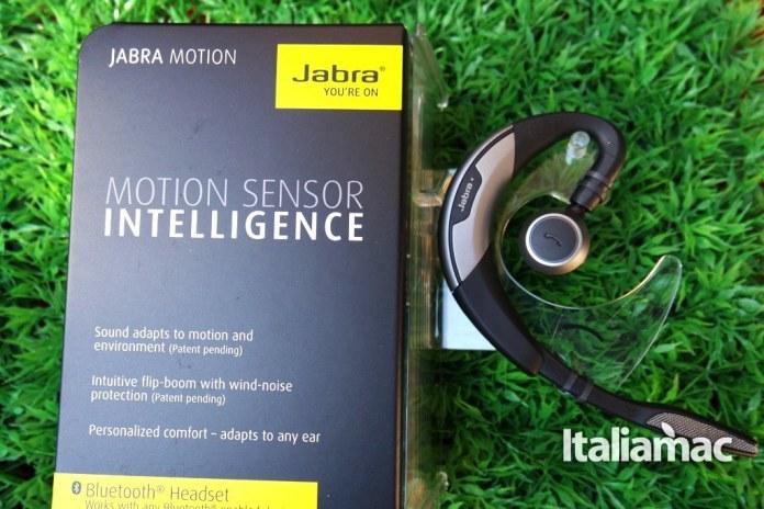 jabra3 Jabra Motion, auricolare bluetooth con tecnologia NFC e comandi vocali