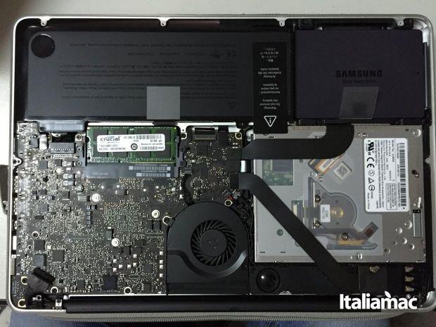aggiungere ram macbook crucial 04 620x465 Italiamac ha installato le RAM DDR3L della Crucial su un MacBook Pro