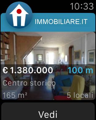 immobiliare it apple watch 02 Disponibile l'app di Immobiliare.it per Apple Watch.