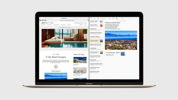 split view 620x349 Apple annuncia OS X El Capitan