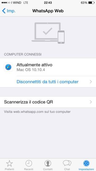 img 0039 620x1103 Whatsapp Web sbarca su iPhone