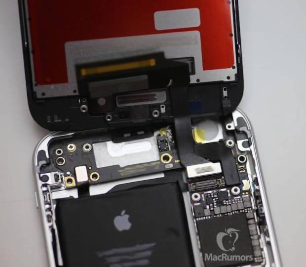 iphone 6s gear open 620x541 iPhone 6S mostrato semi assemblato in un video