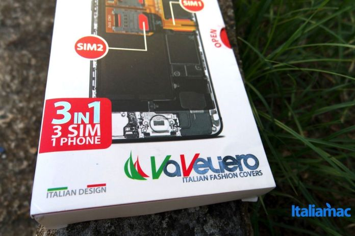 vavelieroiphone13 VaVeliero: Cover Triple Sim, 3 schede SIM su iPhone 6
