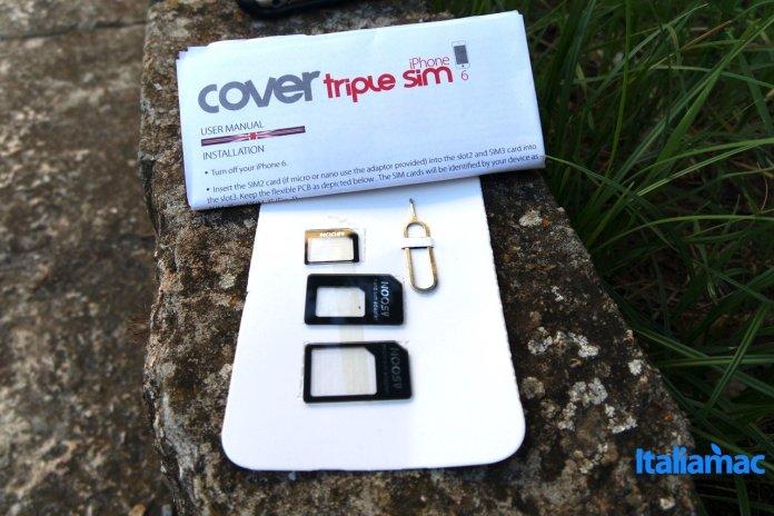 vavelieroiphone9 VaVeliero: Cover Triple Sim, 3 schede SIM su iPhone 6