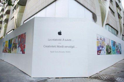 %name Apple celebra in video lapertura di un Apple Store a Bruxelles