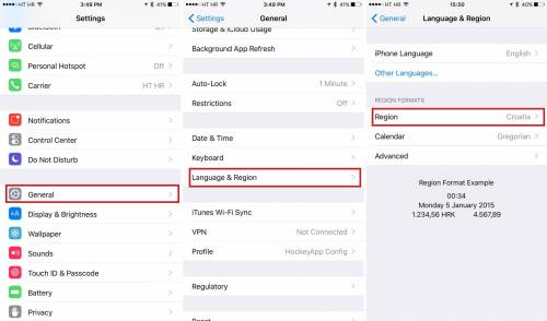 how to enable ios 9 news app outside united states iphone screenshot 001 Come abilitare lapp News di iOS 9 anche in Italia