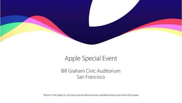 Apple Keynote 9 Settembre