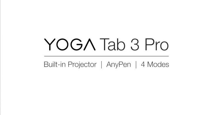Apple Lenovo Yoga Tab 3 Pro 2