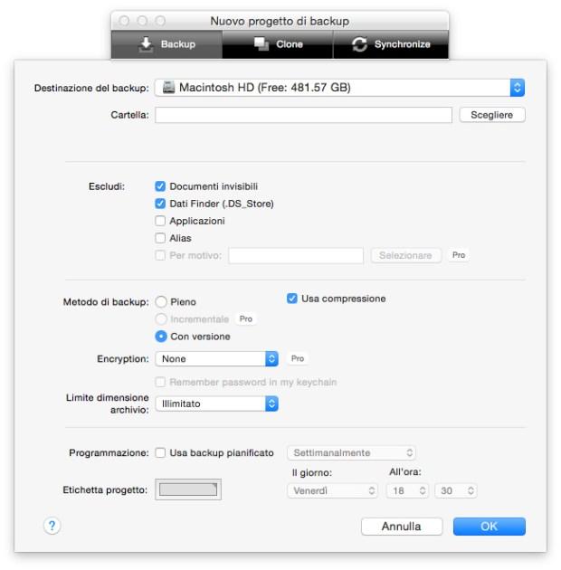 screenshot 2015 09 30 15.21.48 620x630 Belight Software Get Backup Pro: un Software di Clonazione disco per prepararsi a El Capitan