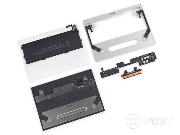 Magic Trackpad Teardown componenti