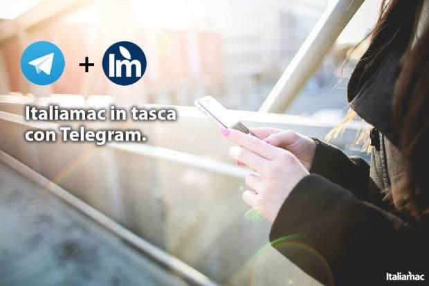 Canale Italiamac su Telegram