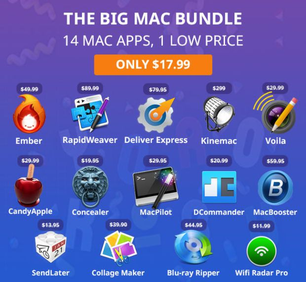sconto app 620x572 18 dollari per 14 app per Mac, ultime 48 ore!
