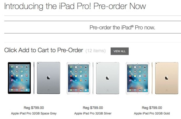iPad Pro Staples