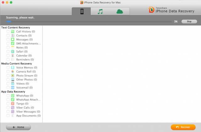 iphone backup extractor Tenorshare iPhone Data Recovery: software per recuperare dati persi su iPhone