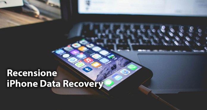 iphone data recovery Tenorshare iPhone Data Recovery: software per recuperare dati persi su iPhone
