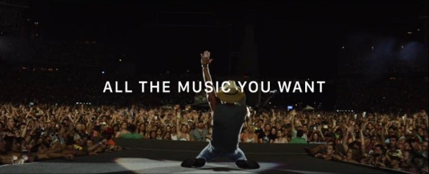 kenny chesney apple music 1 800x325 620x252 Nuovo Spot per Apple Music porta dietro le quinte del tour di Kenny Chesney