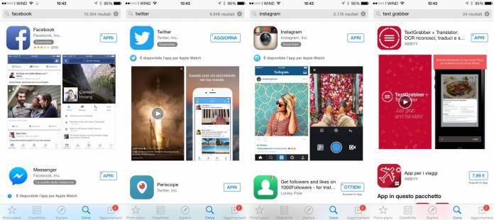 ricerca appstore Le ricerche in App Store adesso sono più precise ed intelligenti