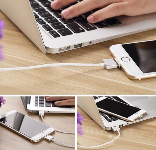 s ip6p 0723w 8 Entalent, il cavetto USB magnetico per iPhone in stile MacBook