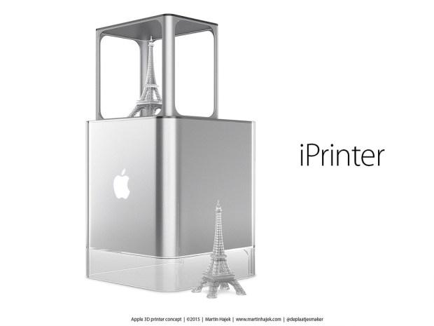 250993 620x465 Realizzato concept per stampante 3D Apple
