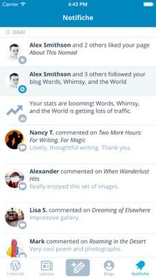 %name App di WordPress aggiornata per supportare Multitasking su iPad