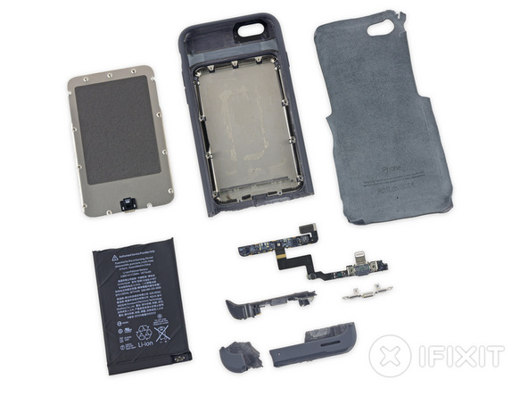 smart battery case teardown 3 iFixit smonta la Smart Battery Case Apple per iPhone 6s