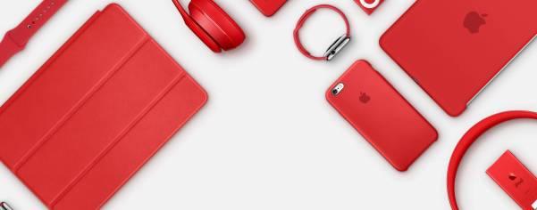 %name Apple si tinge di rosso per la lotta contro lAIDS
