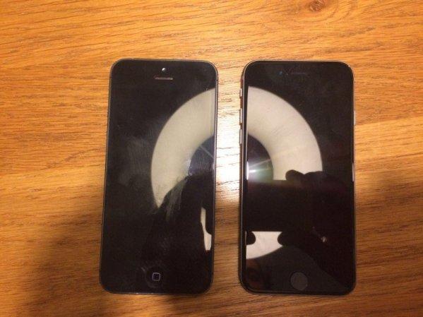 claimed 4 inch iphone photo 800x600 Trapelate le possibili immagini delliPhone da 4 pollici