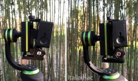 %name Gimbal LanParte HHG 01: video perfettamente stabilizzati su iPhone e GoPro
