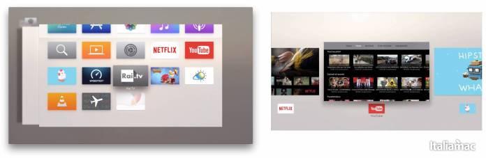 appswitcher Disponibile al download tvOS 9.2 per Apple TV 4