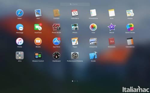 launchpad default Come cambiare la griglia del Launchpad su Mac OS X