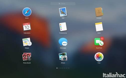 launchpad modificato Come cambiare la griglia del Launchpad su Mac OS X