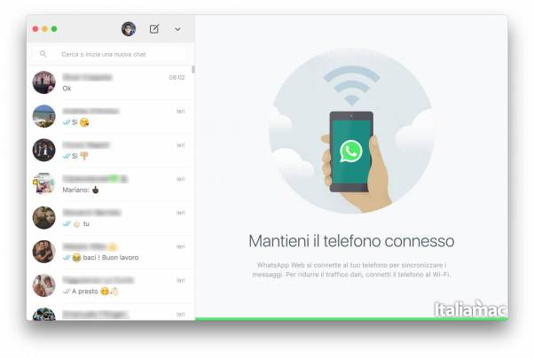 whatsapp mac desktop WhatsApp lancia la sua prima app per Mac