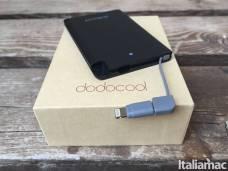 %name Power bank ultra sottile Dodocool da 2500mAh per iPhone