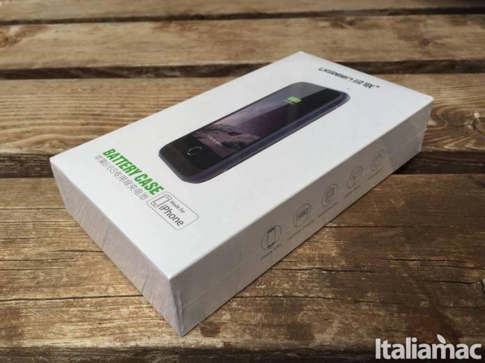 pack side Cover Batteria di Ugreen per iPhone: 3100mAh per non rimanere mai senza batteria