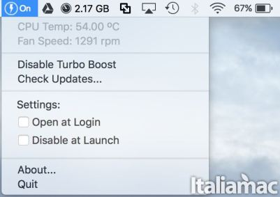 turbo boost switcher info Come disabilitare e abilitare Turbo Boost su Mac